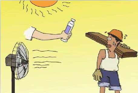 The weather is getting hotter and hotter, and the company's summer heat operation measures against heatstroke and cooling! !