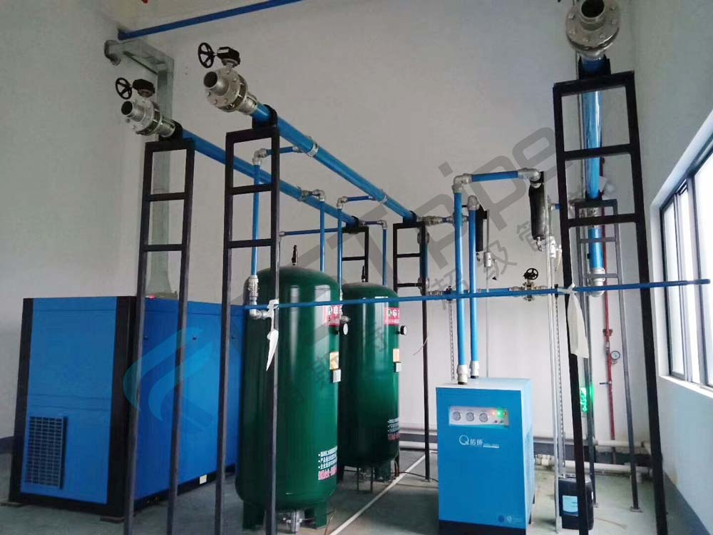 Eight advantages of air compressor waste heat recovery power saving equipment