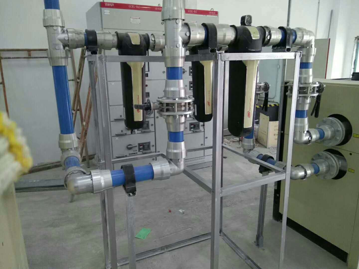 Reasons for unstable pressure and insufficient air volume in compressed air piping