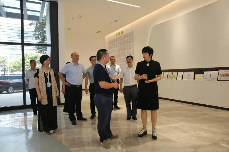 The relevant leaders of the Chancheng District government visited our company to inspect and guide the work