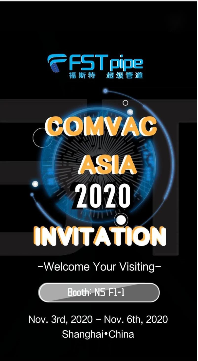 ComVac Asia 2020 Invitation from FSTpipe